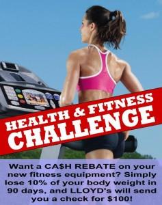 Health & Fitness Challenge