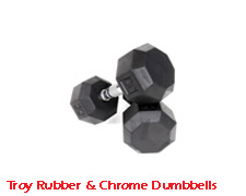 Troy-Rubber-&-Chrome-Dumbb